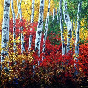 "Jennifer Vranes ""Autumns Paintbrush"""