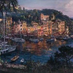 "Cao Yong ""Morning in Portofino"""